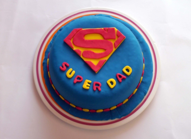 Super dad cake | Cakes of all sizes | Pinterest | Dad Cake, Super Dad ...