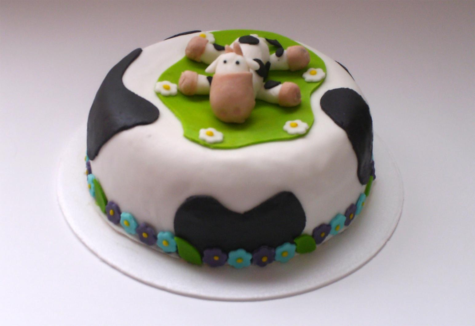 Tortas - Decoracion de cocina con vacas ...