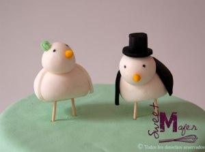 novios-pájaros-elegantes