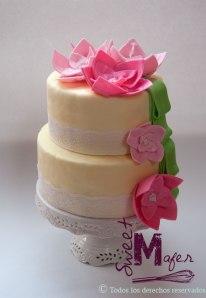 torta-con-flores-tipo-loto