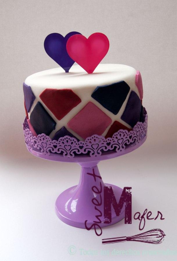 torta-con-rombos-y-corazones