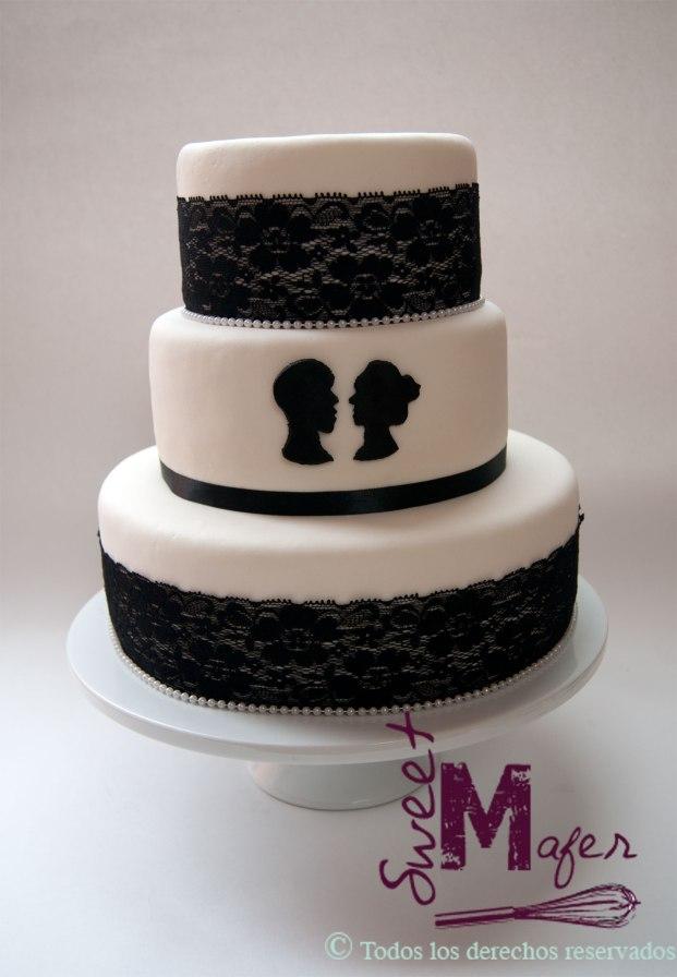torta-encaje-y-siluetas