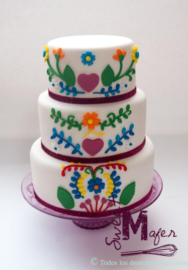 torta-flores-mexicanas