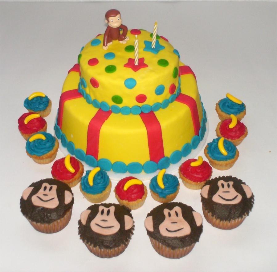 Cómo preparar una torta de cumpleaños de jorge el curioso