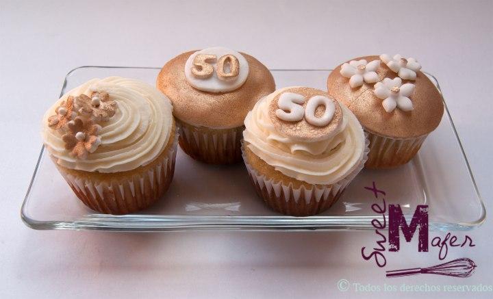 cupcakes-bodas-oro