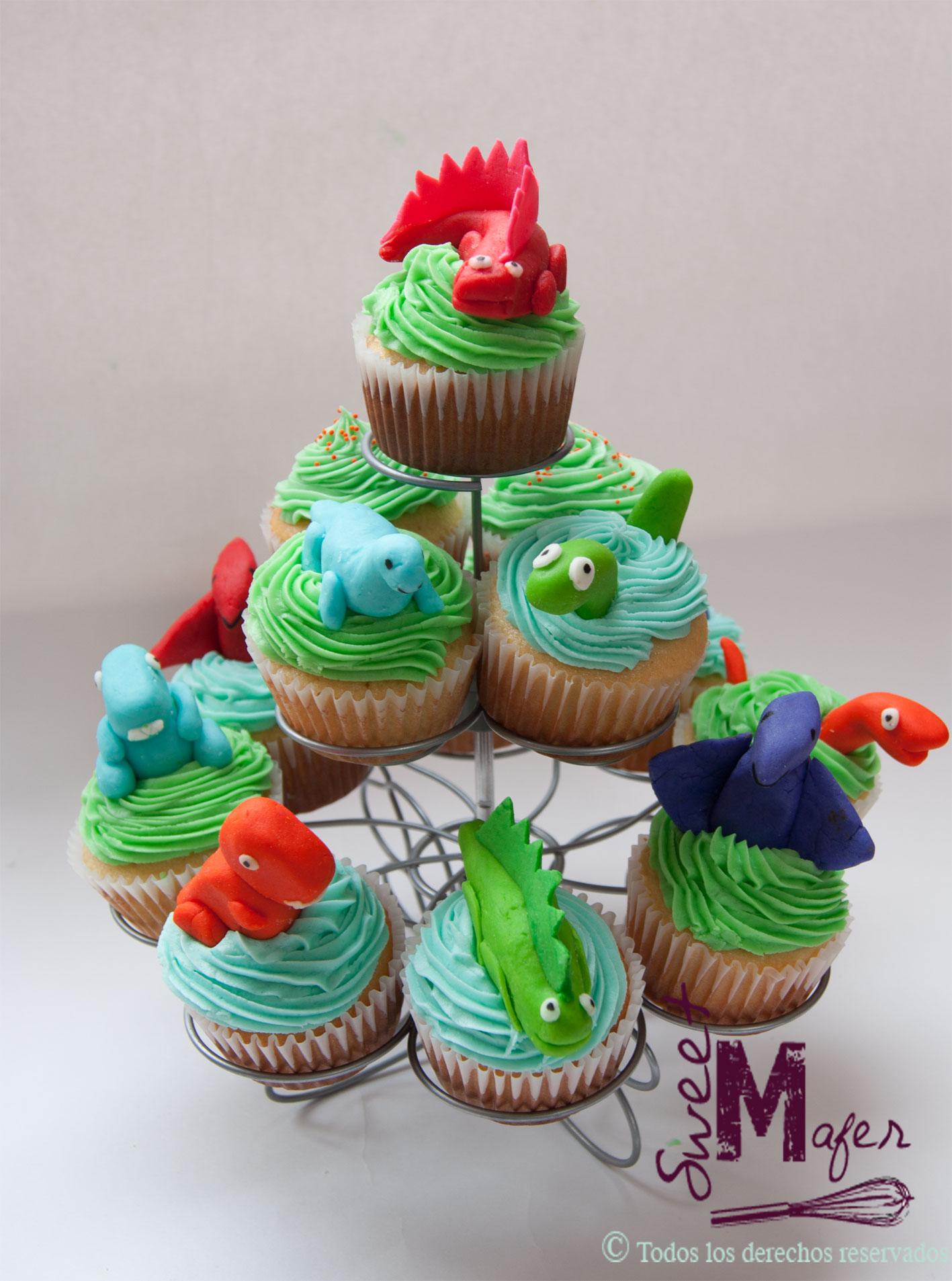 Dinosaurio En Cake