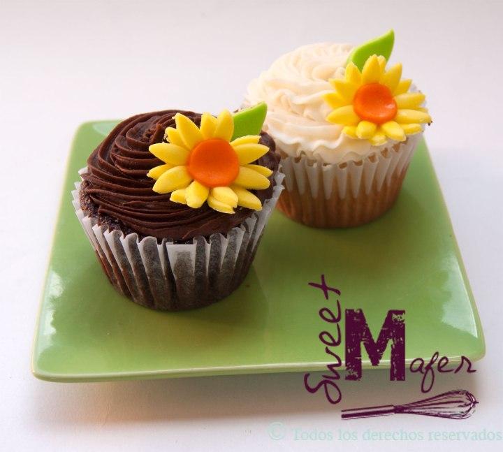cupcakes-girasoles