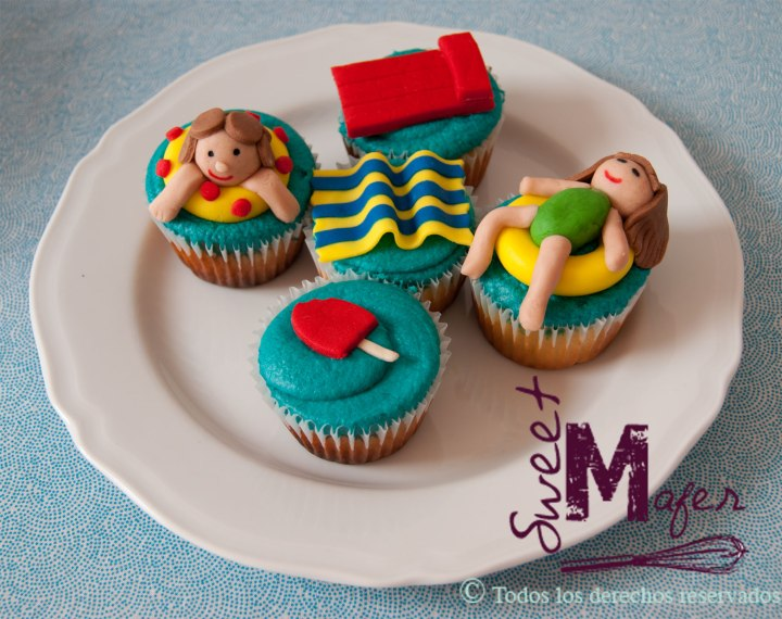 cupcakes-piscina