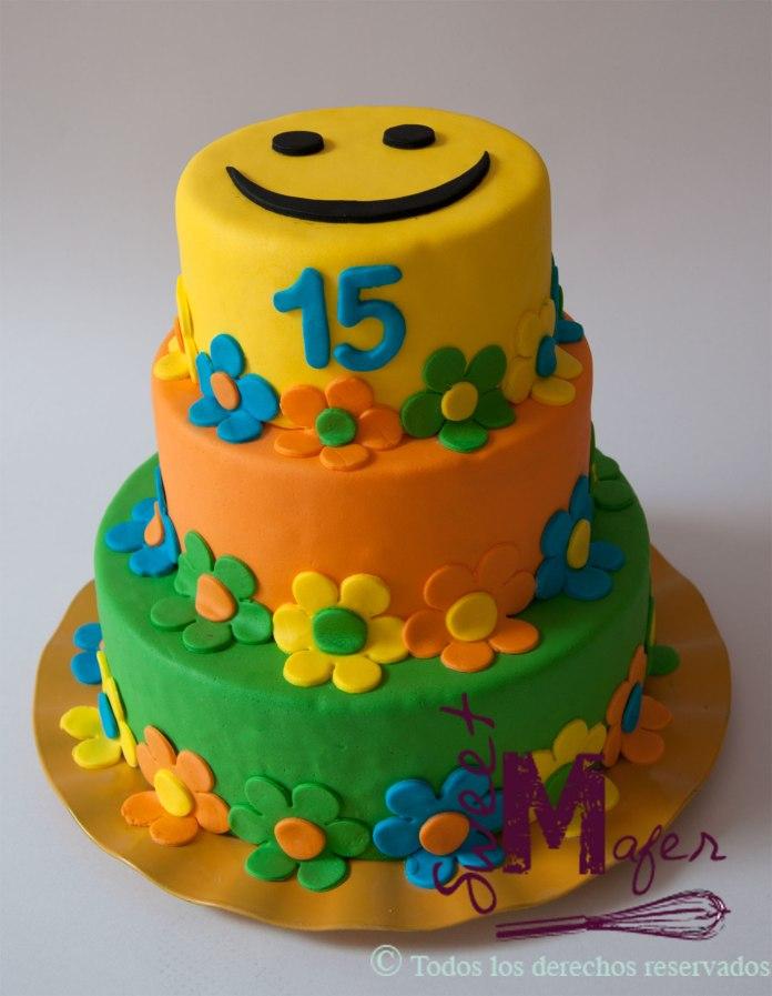 smiley-cake