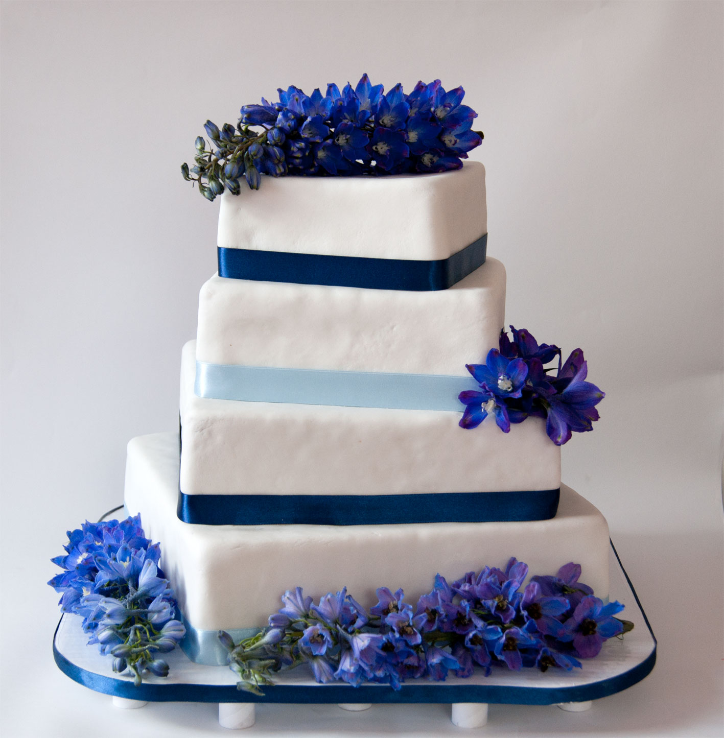 Birthday Cakes Pictures With A Navy Blue Background