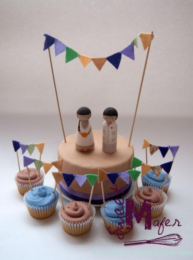 torta-banderitas