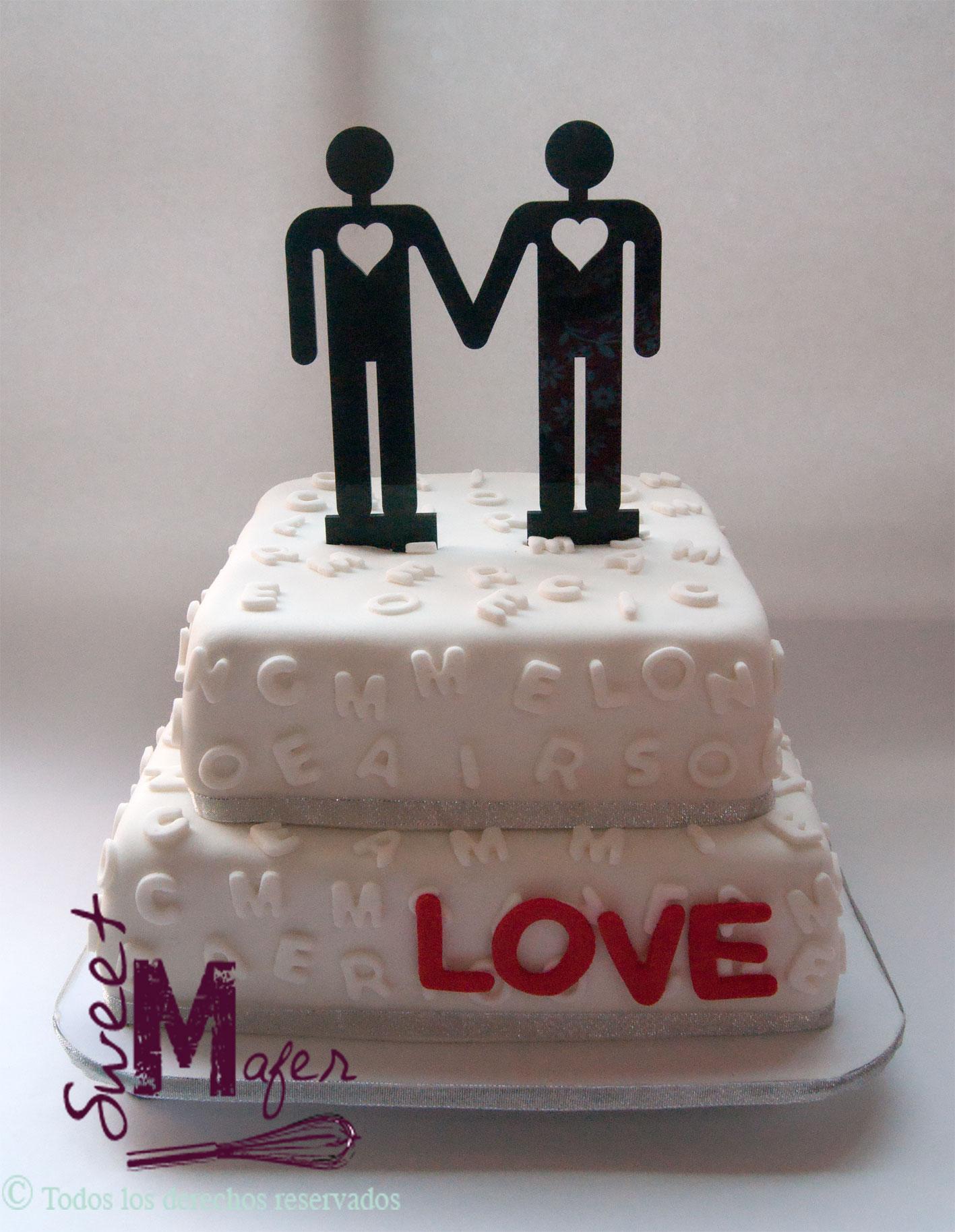 pasteles para bebés peón gay