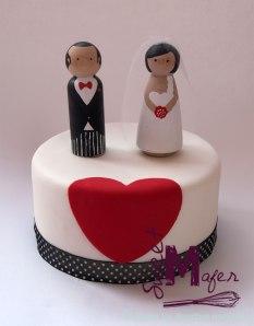torta-corazon
