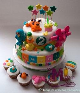 torta-y-cups-pocoyo-para-ignaco