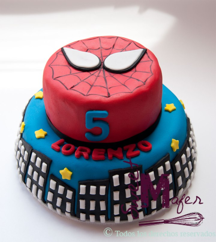 spiderman-cake-