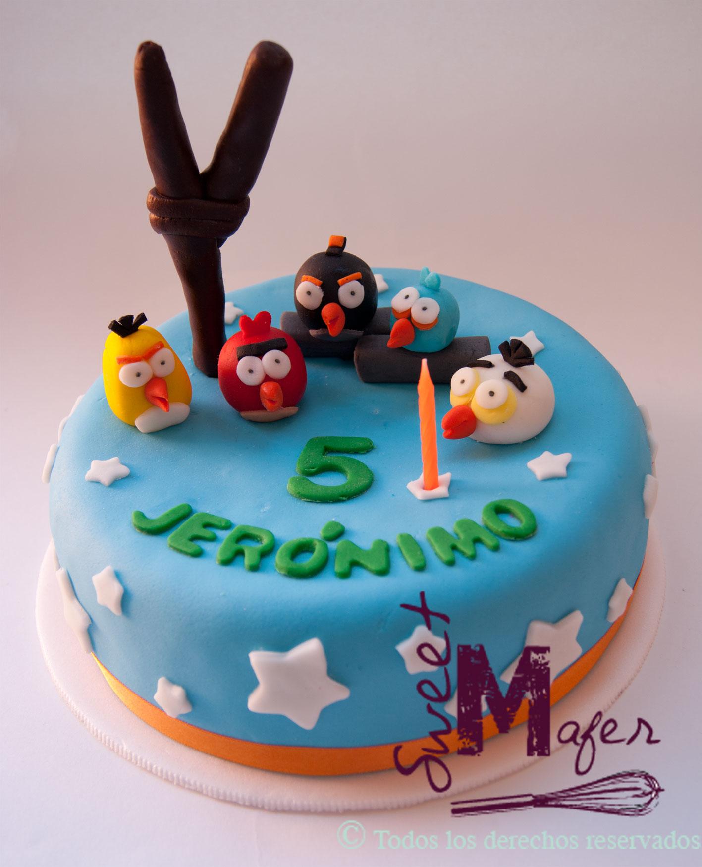 Angry Birds Star Wars Birthday Cake