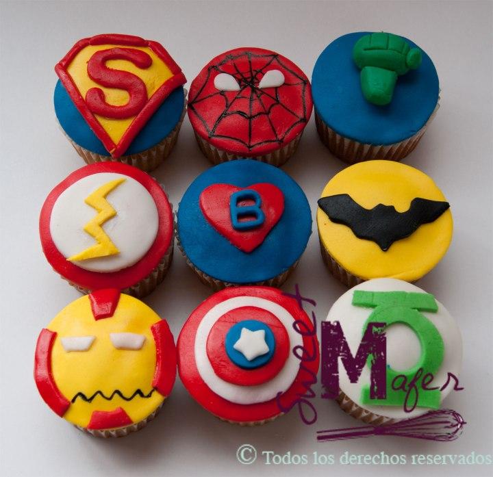 cupcakes-superheroes