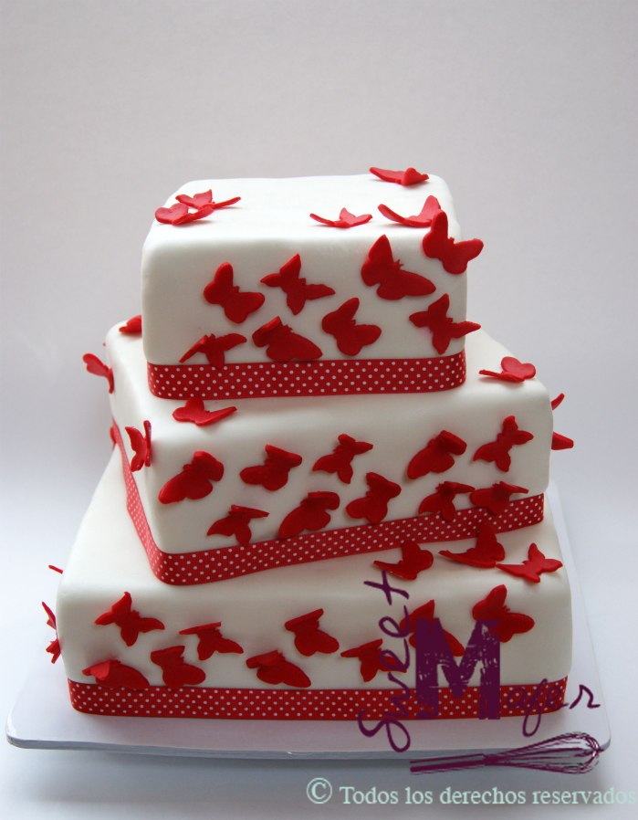 torta-mariposas-rojas