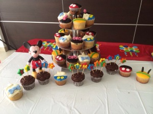 cupcakes amigos mickey