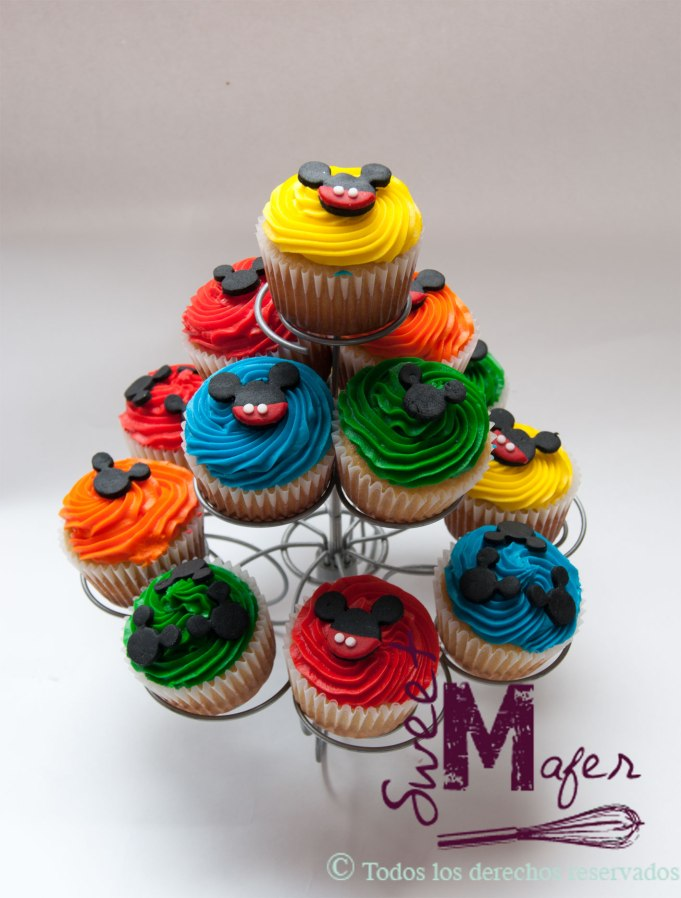 mickey-cupcakes