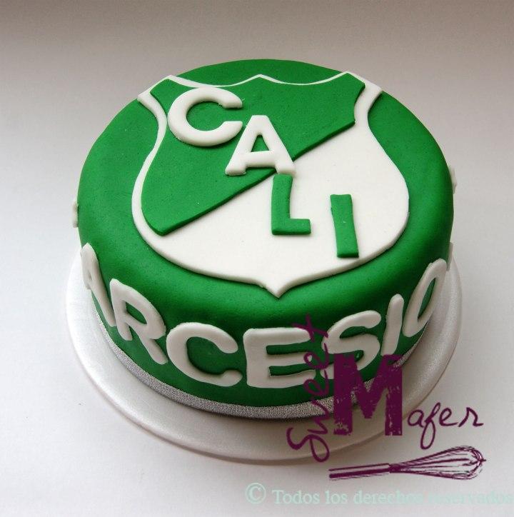 Torta del Deportivo Cali de Sweet Mafer