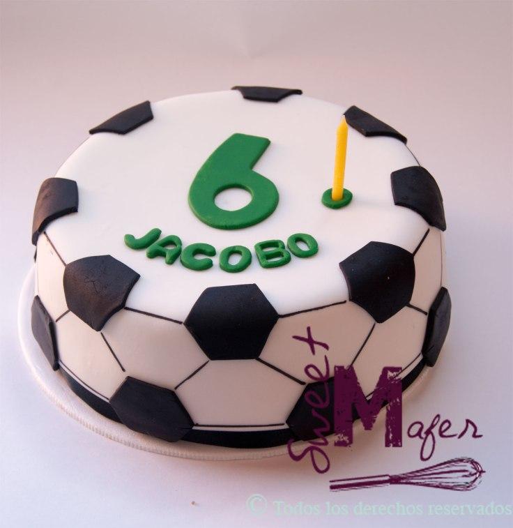 Torta de balón para Jacobo © Sweet Mafer