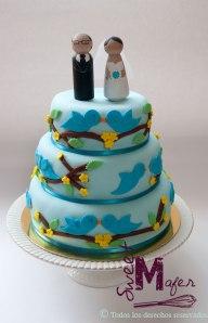 torta-pajaritos-azul
