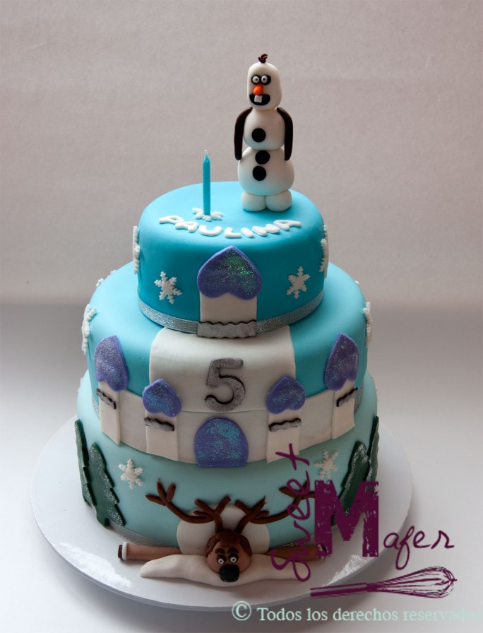 frozen-cake-reno-y-olaf