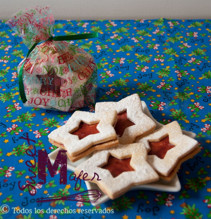 linzer-star-cookies