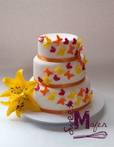 torta-mariposas