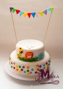 torta-bautizo-selva