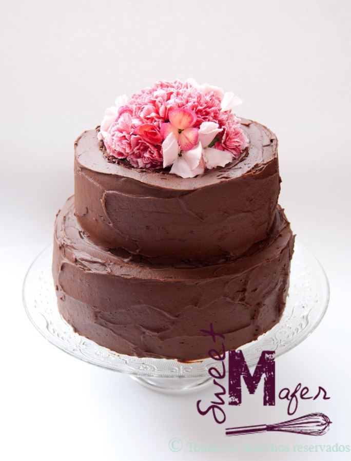torta-chocolate-claveles