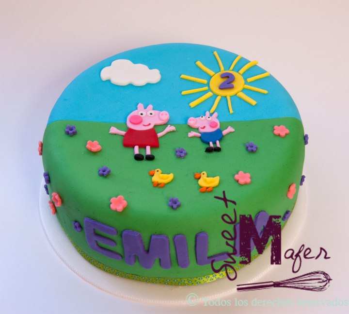 peppa-y-george-cake