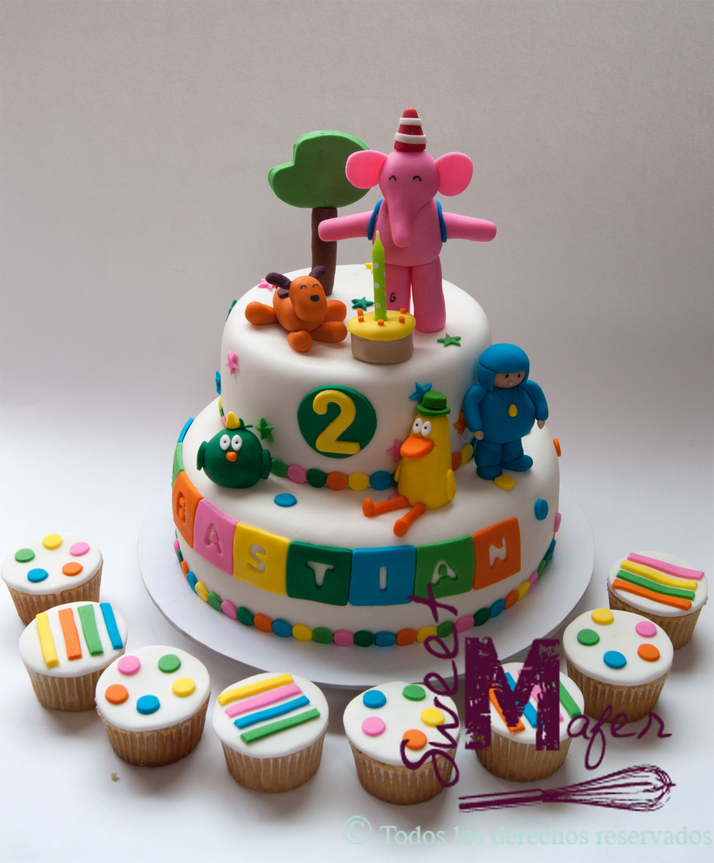 Pocoyo Cake Ideas