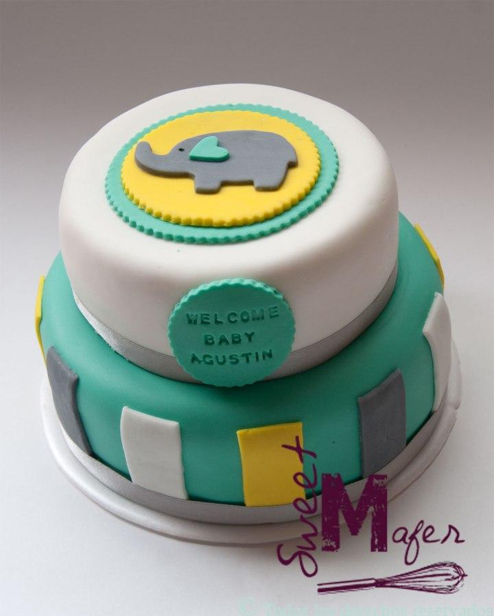 torta-bebe-elefnte