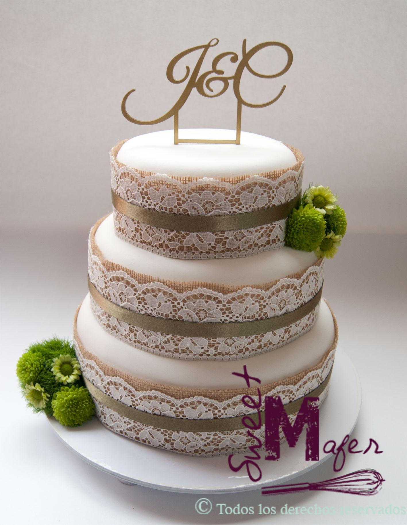 tortas de comunion rusticas