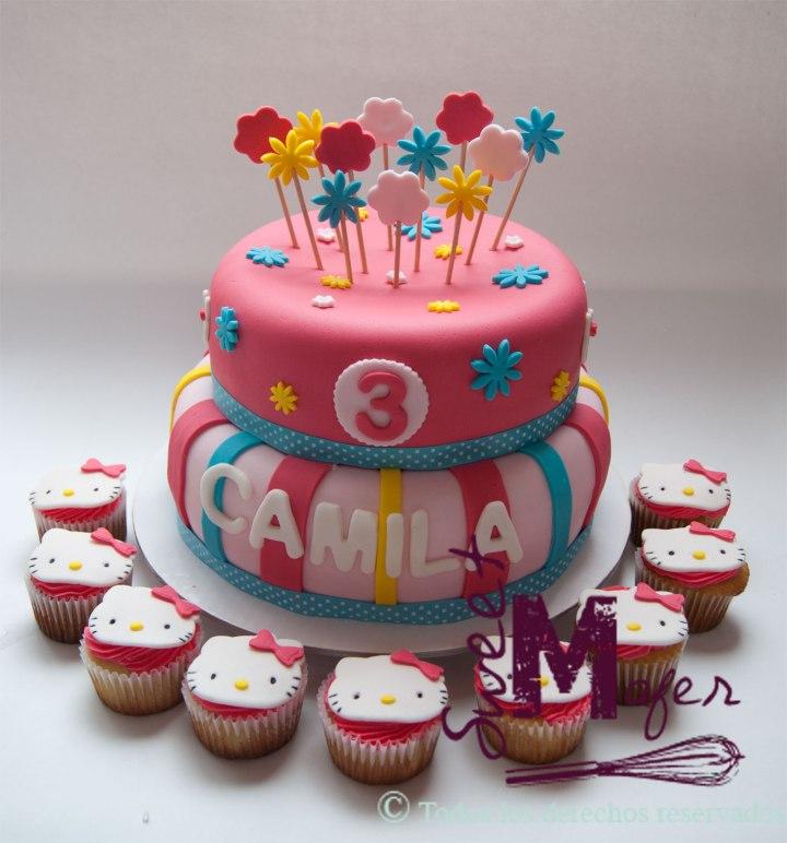 torta-y-cups-kitty-camila