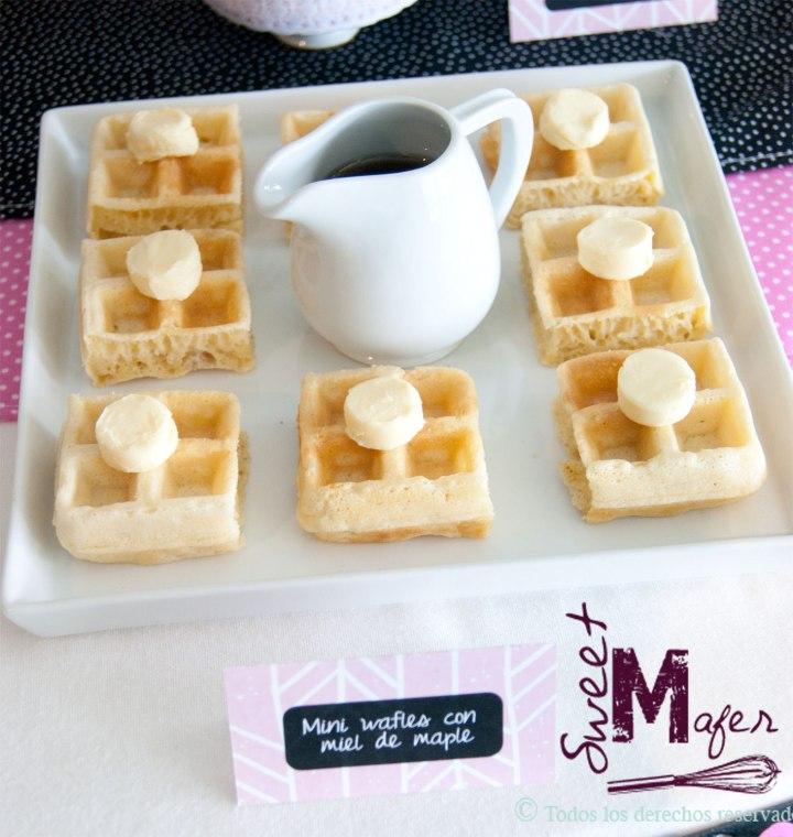 mini-waffles
