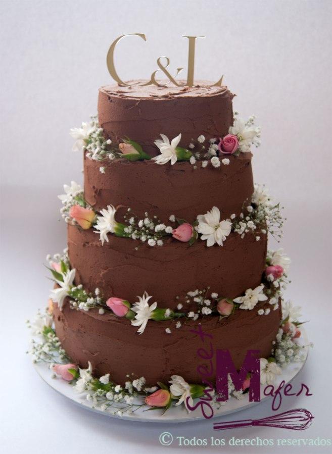torta-boda-chocolate-rustica