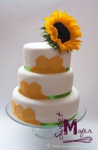 torta-panales-y-girasol