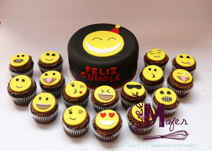emoticones-torta-y-cups