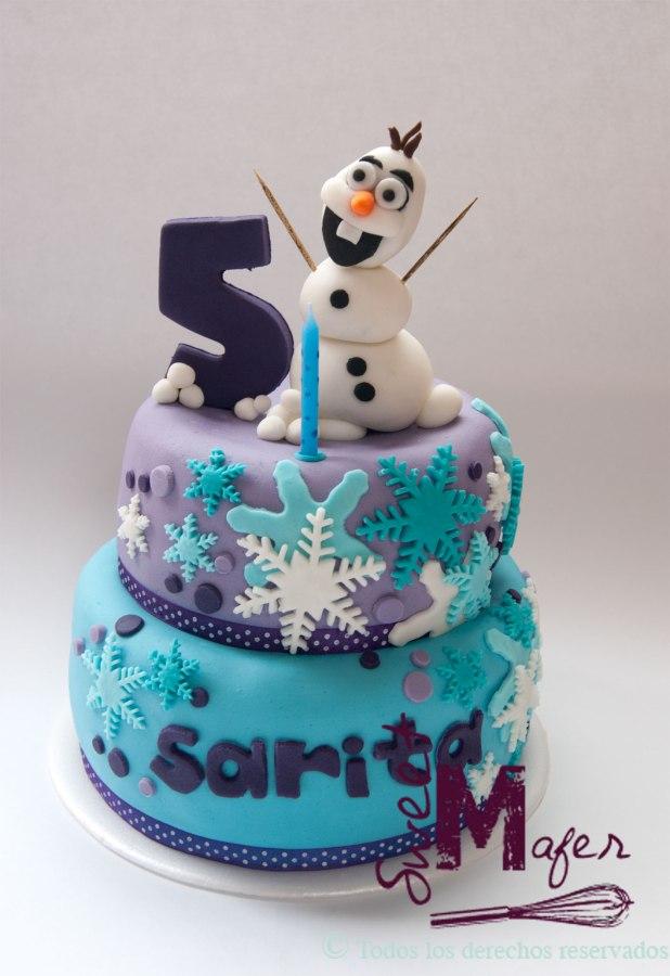frozen-olaf-y-snowflakes-cake