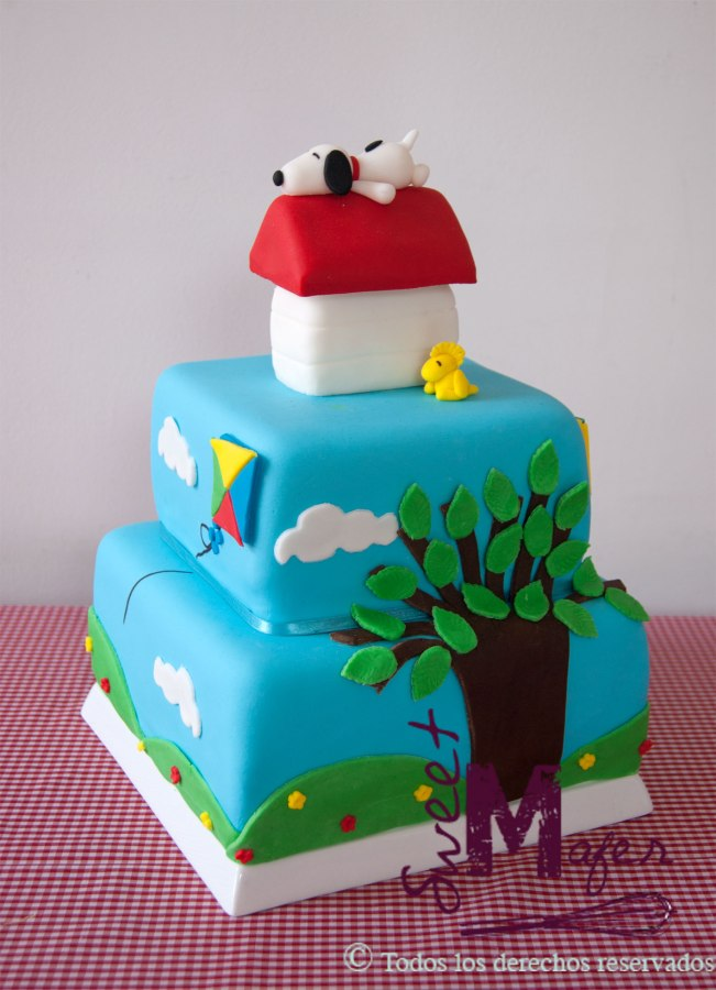 torta-snoopy