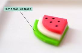 Detalle de un topping para cupcake de Sweet Mafer