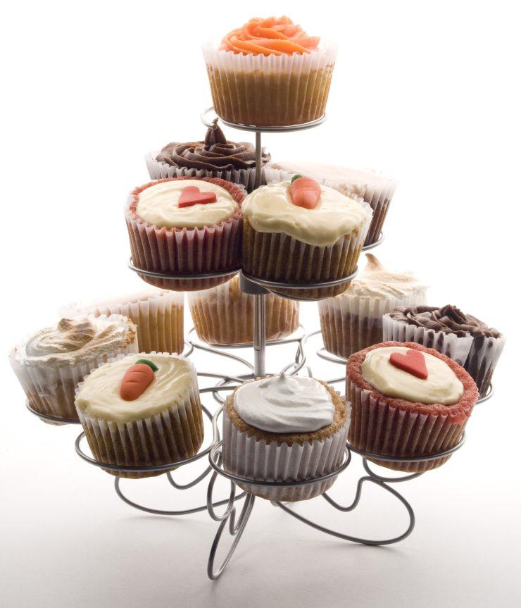 Cupcakes de sabores de Sweet Mafer