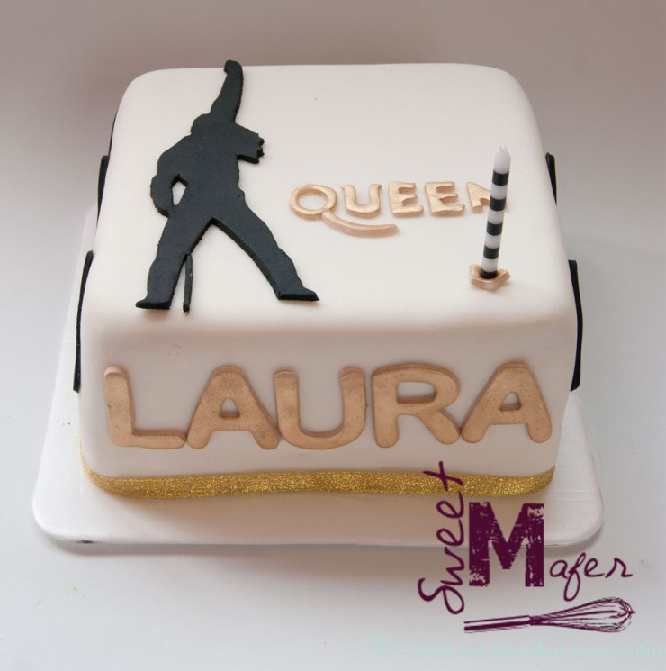 Torta de la banda Queen de Sweet Mafer