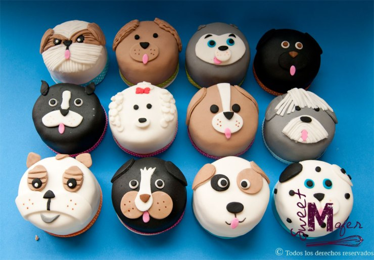 Mini cakes perros de Sweet