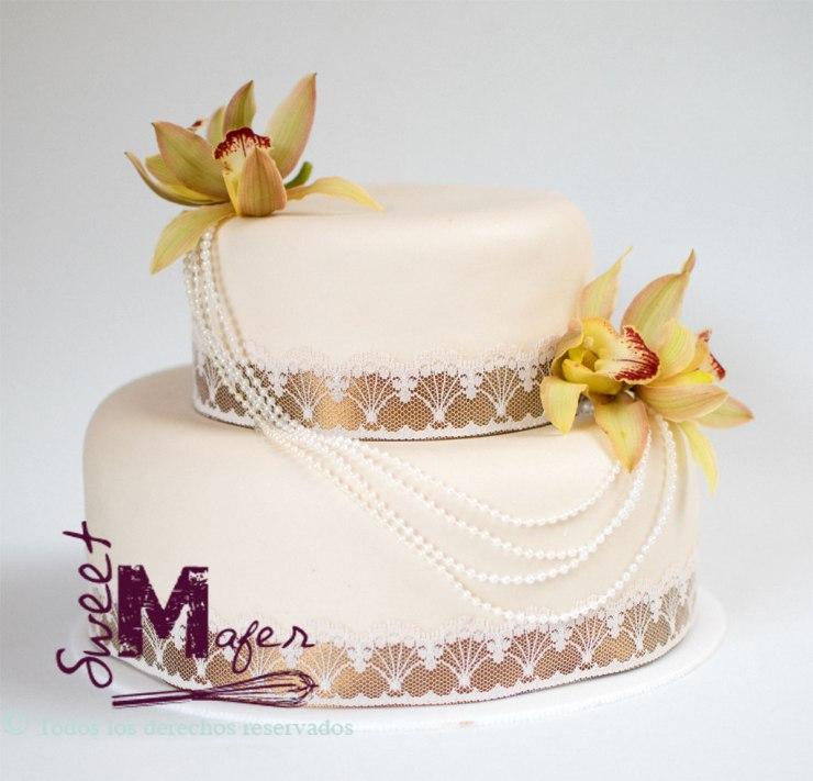 Torta bodas perla