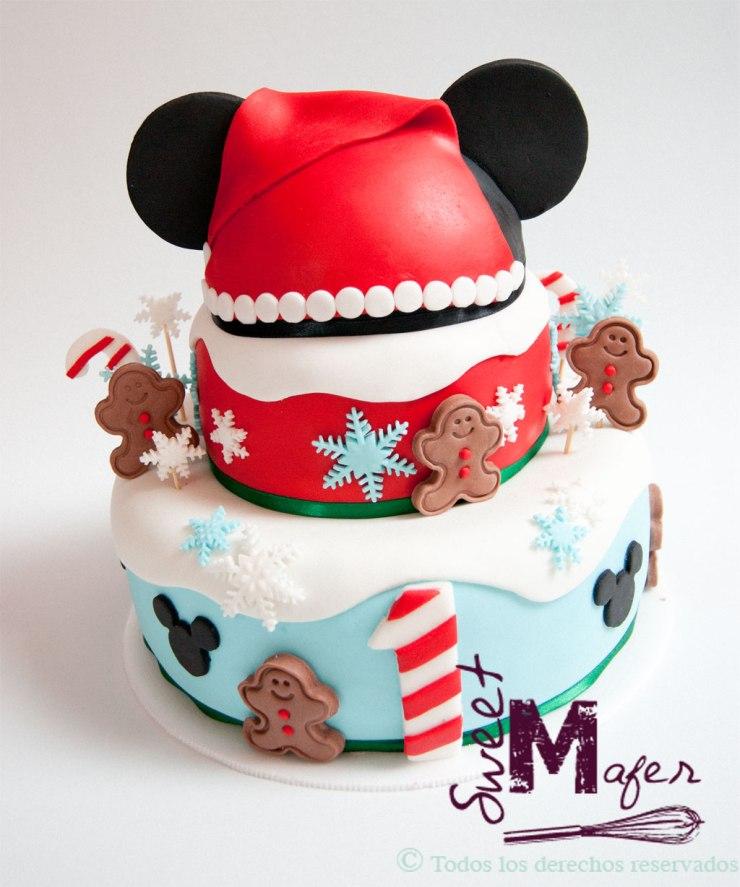 Torta Mickey Navidad Sweet Mafer