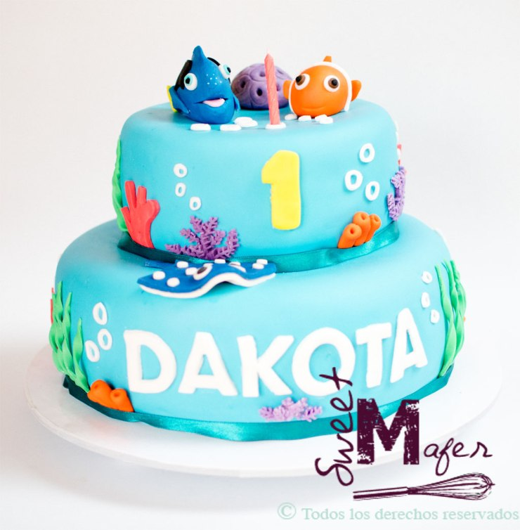 Torta Dory y Nemo, Sweet Mafer